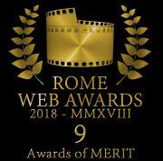 Rome web awards 9 Awards of merit
