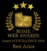 Best Actor Rome Web Awards